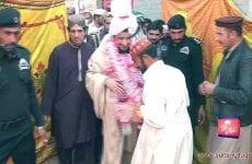 Khadim Sultan-ul-Faqr Hazrat Sakhi Sultan Mohammad Najib-ur-Rehman Madzillah-ul-Aqdus Ka Tableegi Doora Buchiana Mandi Tehsil Jaranwala District Faisalabad 8 February 2015