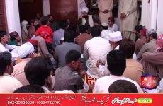 Khadim Sultan ul Faqr Sultan Mohammad Najib ur Rehman ki Professor Mohammad Irfan Kay Ghar Amad Aur Istaqbal Jahanian Mandi Tehsil District Khanewal 16 April 2015