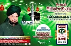 Milad-e-Mustafa(S.A.W) Zere Sadarat Khadim Sultan ul Faqr Hazrat Sakhi Sultan Mohammad Najib ur Rehman Madzillah ul Aqdus 4 January 2015 (Part 2/2)
